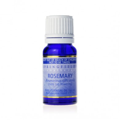 Springfields Organic Rosemary Pure Essential Oil - Go Vita Batemans Bay