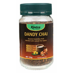 Kintra Foods Roasted Dandelion Chai Tea - Go Vita Batemans Bay