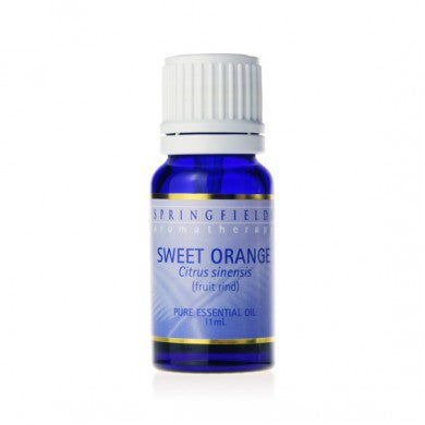 Springfields Sweet Orange Pure Essential Oil - Go Vita Batemans Bay