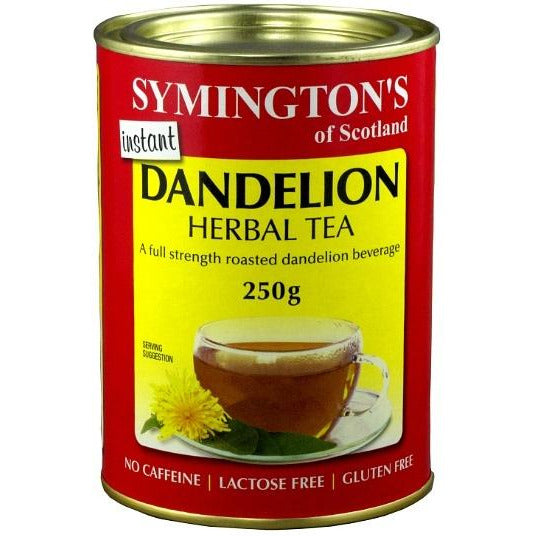 Symingtons Dandelion Herbal Tea - Go Vita Batemans Bay