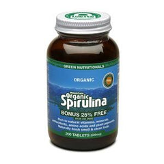 Green Nutritionals Mountain Organic Spirulina Tablets - Go Vita Batemans Bay