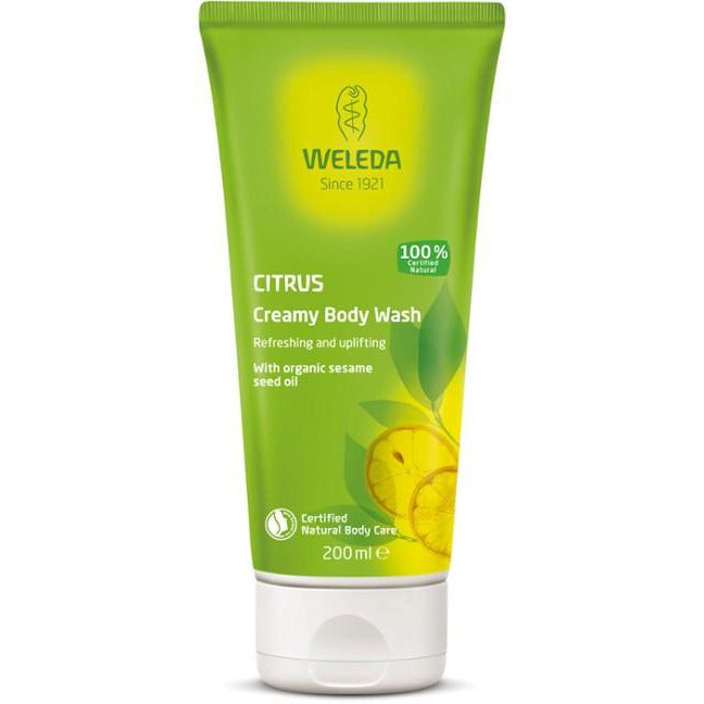 Weleda Citrus Creamy Body Wash - Go Vita Batemans Bay