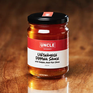 Vietnamese dipping sauce with barrel aged fish sauce | Uncle