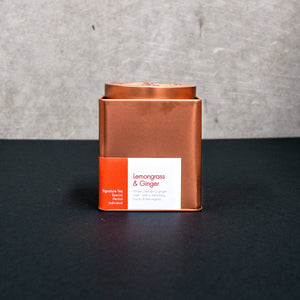 Lemongrass & Ginger Tea with Tin 100g | Oriental Tea House