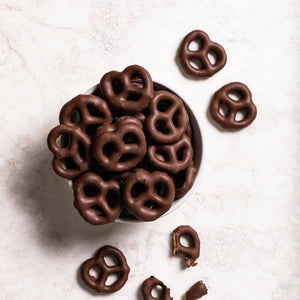 Milk Chocolate Coated Pretzels | Chocolati Confectionary