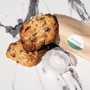 Cookies by EARL - Callebaut choc chip, walnut & sea salt cookie dough (500g)
