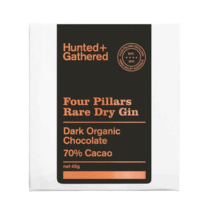 Four Pillars Dry Gin 70% Cacao | Hunted and Gathered