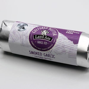 Smoked Garlic Cultured Butter | Lardass