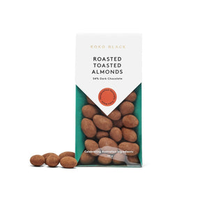 Roasted Toasted Almonds Dark