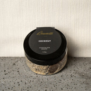 Chocolate Drops Coconut | Brunetti