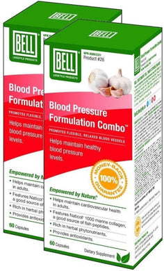BELL Blood Pressure Formulation (60 Caps) 2-Pack