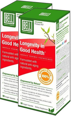 BELL Longevity In Good Health  (90 caps) 2-PaCK