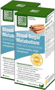 BELL Blood Sugar Metabolism (60 Caps)  2-Pack