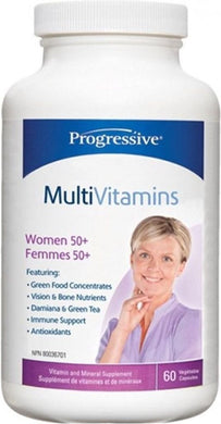 PROGRESSIVE Multi Women 50+ (60 Caps)