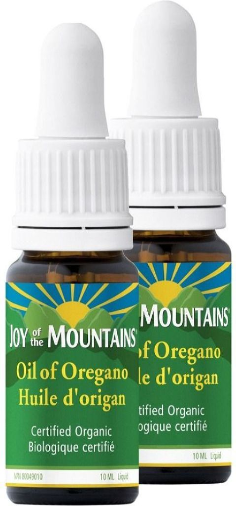 JOY OF THE MOUNTAINS Oil of Oregano (10 ml) 2-Pack