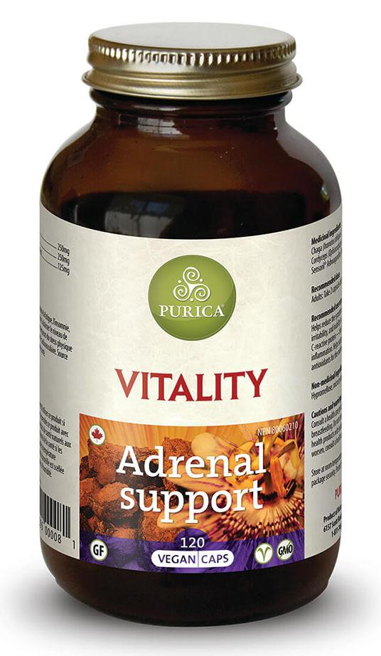 PURICA Vitality Adrenal Support (60 Veg Caps)