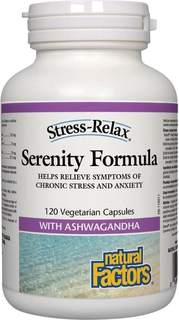 NATURAL FACTORS Serenity Formula (120 V-Caps)