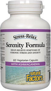 NATURAL FACTORS Serenity Formula (60 V-Caps)