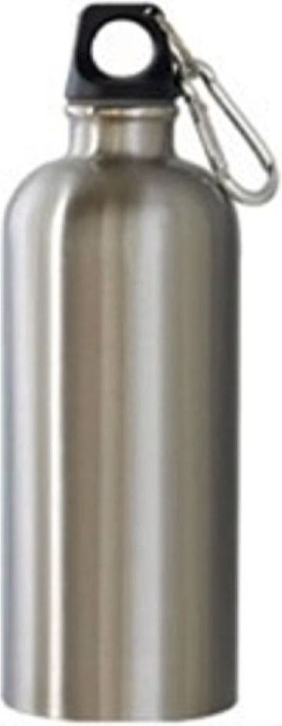 NEW WAVE - SS Water Bottle - Brushed Steel (600 ml)