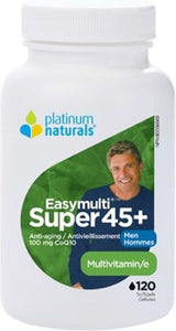 PLATINUM Super Easymulti 45+ For Men  ( 120 sgels )