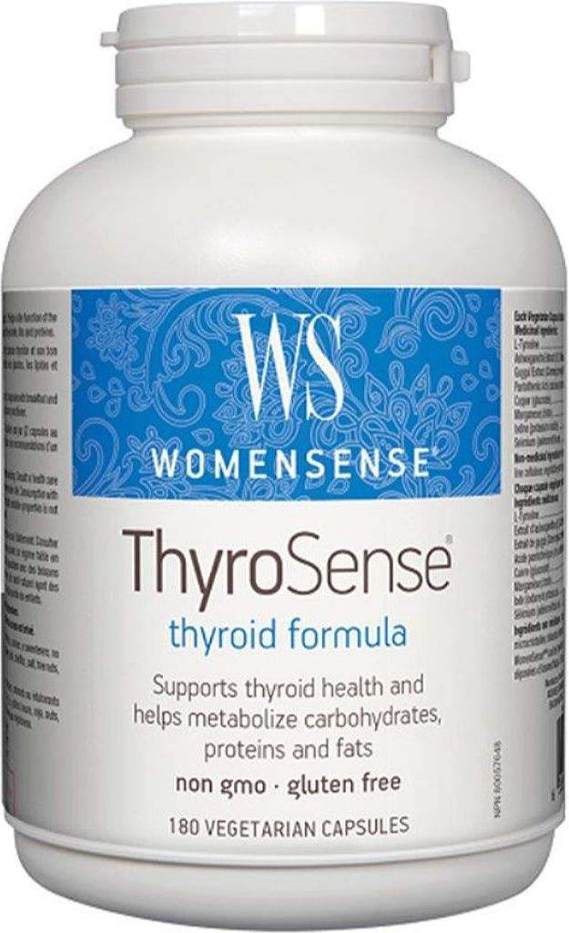 WOMENSENSE ThyroSense (180 veg caps)