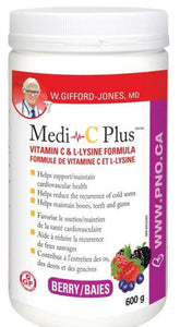 W.GIFFORD-JONES Medi C Plus w/ Magnesium (Berry - 600 gr)