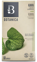 Load image into Gallery viewer, BOTANICA Kava Root Liquid Phytocaps (60 Caps)