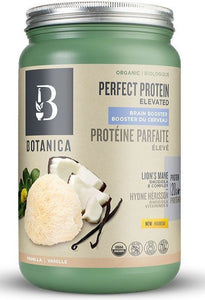 BOTANICA Perfect Protein Brain Booster ( Vanilla - 606 Gr)