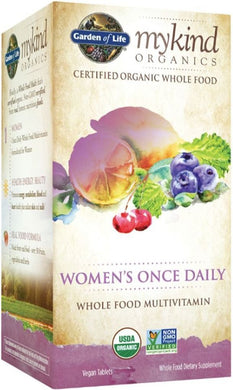 MYKIND Organics Multivitamin - Womens Once Daily (30 veg tabs)