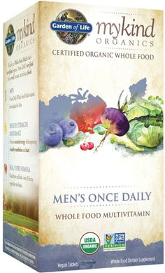 MYKIND Organics Multivitamin - Mens Once Daily (30 veg tabs)