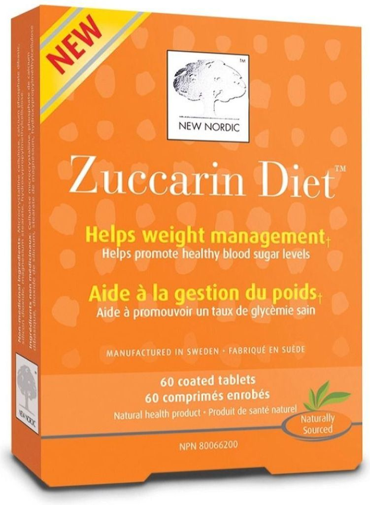 NEW NORDIC Zuccarin Diet (60 Tabs)