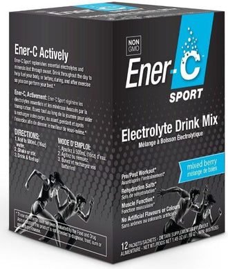 ENER-C Sport Electrolyte Drink Mix Berry Box (12 pck)