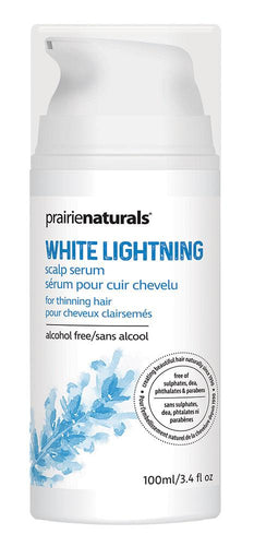 PRAIRIE NATURALS White Lightning Scalp Treatment (120 ml)