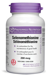 PREFERRED NUTRITION Selenomethionine (220 mcg - 60 caps)