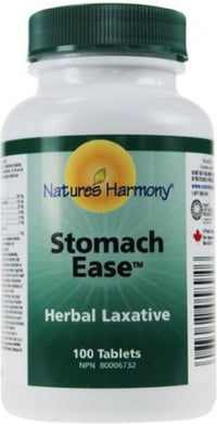 NATURES HARMONY Stomach Ease Laxative (100 Tabs)