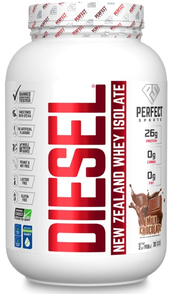 DIESEL New Zealland Whey Isolate (Milk Chocolate - 908 gr)