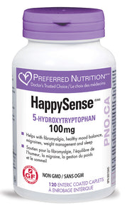 PREFERRED NUTRITION HappySense (100 mg - 120 Tabs)