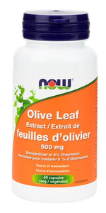 NOW Olive Leaf Extract (60 caps)