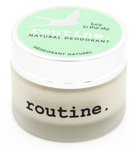 ROUTINE DEODORANT Lucy in the Sky (vegan:  no beeswax - 58 ml)