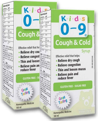 HOMEOCAN Kids 0-9 Cough / Cold Syrup (100 ml) 2-Pack
