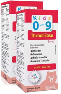 HOMEOCAN Kids 0-9 Throat Ease (100 ml) 2-Pack