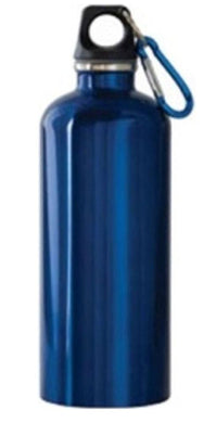 NEW WAVE - SS Water Bottle - Blue (600 ml)