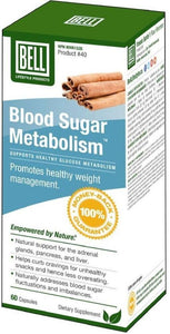 BELL Blood Sugar Metabolism (60 Caps)