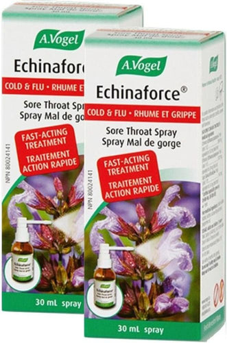 A VOGEL Echinaforce Sore Throat Spray (30 ml) 2-Pack