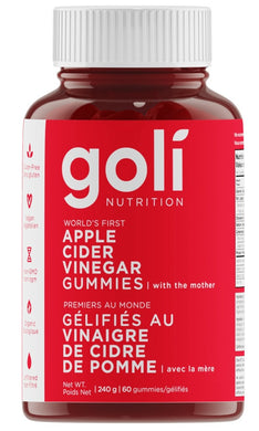 GOLI Apple Cider Vinegar (60 Gummies)