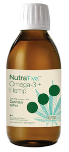 NUTRATIVA Omega-3 + Hemp (Chocolate Mint - 200 ml)