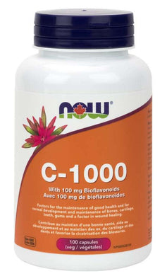 NOW Vitamin C 1000 (Bioflavonoids - 100 VCaps)