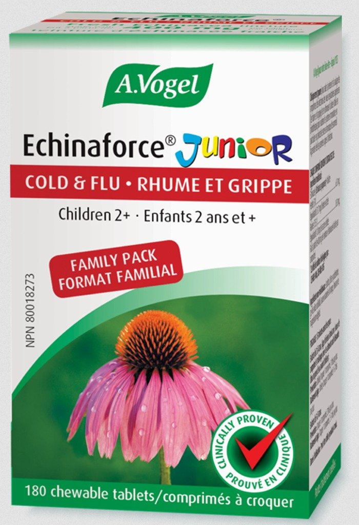 A VOGEL Echinaforce Junior (400 mg - 180 chew tabs)