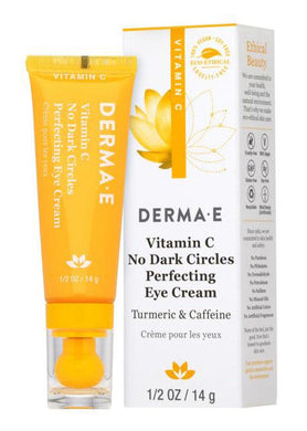 DERMA E Vitamin C No Dark Circles Perfecting Eye Cream (14 gr)