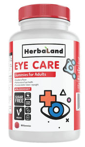 HERBALAND Eye Care for Adults (Strawberry - 90 gummies)